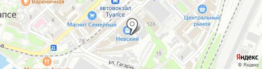 Престиж на карте Туапсе