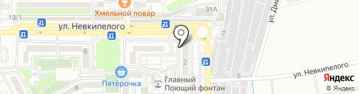 Сапфир на карте Краснодара