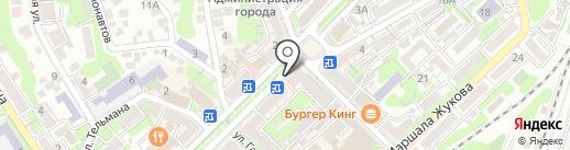 Быстроденьги на карте Туапсе