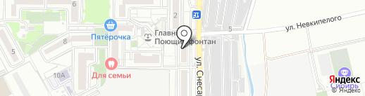 Умничка на карте Краснодара