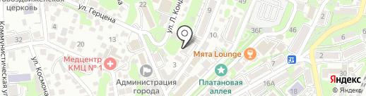 Детская шахматная школа им. М. Ботвинника на карте Туапсе