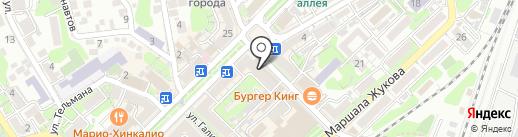 Туапсе на карте Туапсе