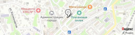 Бар паровых коктейлей на карте Туапсе