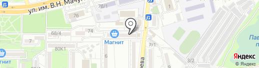 Мастерская по реставрации ванн на карте Краснодара