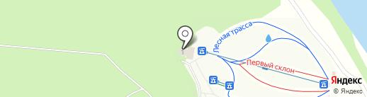 Пейнтбольный клуб на карте Семилуков