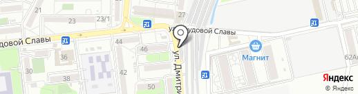 Магазин аккумуляторов на карте Краснодара
