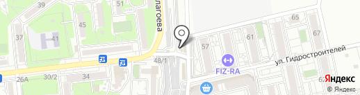 Арм-Юг на карте Краснодара
