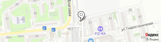 ДИВА на карте Краснодара