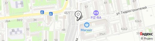 999 на карте Краснодара