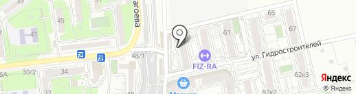 О2 на карте Краснодара