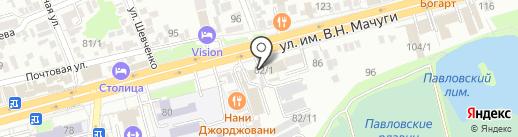 MotoClinic на карте Краснодара