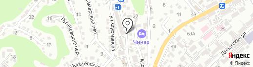 НеонАвто на карте Туапсе