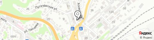 ОВА на карте Туапсе