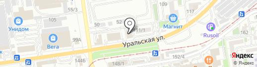 Woodel на карте Краснодара