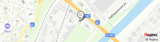 ОТИСЛифт на карте Туапсе