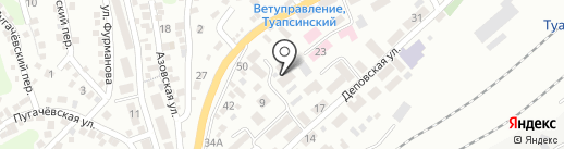 Детский сад №31 на карте Туапсе