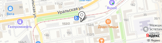 Ломбард 8 на карте Краснодара