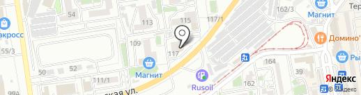 Линия Качества на карте Краснодара