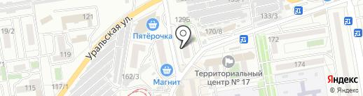 Мой ангел на карте Краснодара