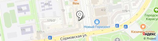 Бюро переводов на карте Краснодара