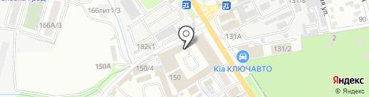 Декинг-Юг на карте Краснодара