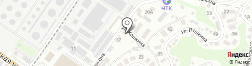 ТЕМП на карте Туапсе