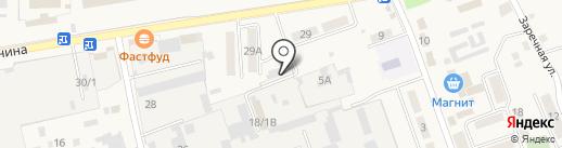 Кубань-Профиль на карте Тлюстенхабля