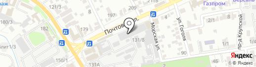 Фаворит на карте Краснодара