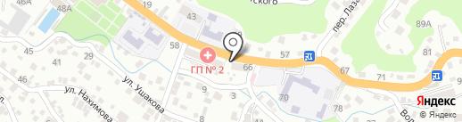 Магазин автозапчастей для КАМАЗ на карте Туапсе