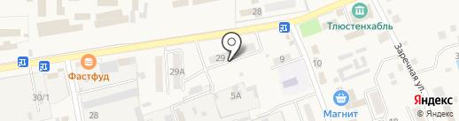 Oriflame на карте Тлюстенхабля