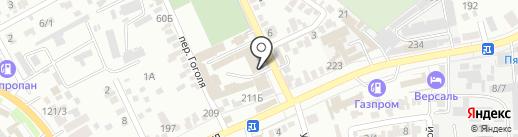 Р.иМет на карте Краснодара