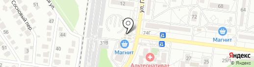 Магазин памятников на карте Воронежа