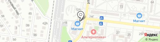 Мясной магазин на карте Воронежа