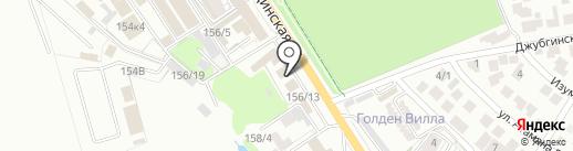 Центр запасных частей на карте Краснодара