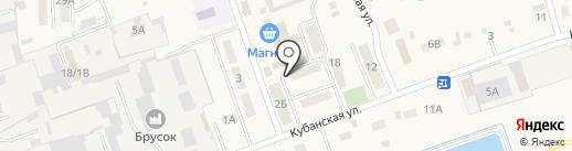 Ветеран на карте Тлюстенхабля