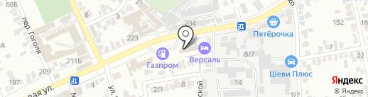Электроснаб-Кубань на карте Краснодара