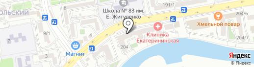 Компьютерные сети на карте Краснодара