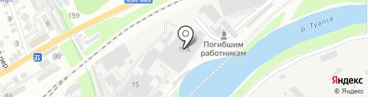 СТРОЙМЕХ на карте Туапсе