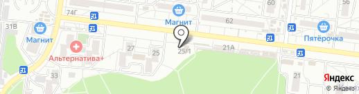Эль на карте Воронежа