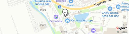 Техно Темп на карте Краснодара