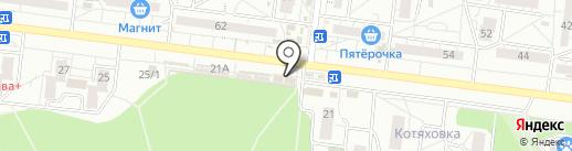 Фармия на карте Воронежа