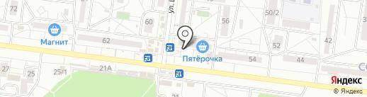 Магазин детской одежды и обуви на карте Воронежа