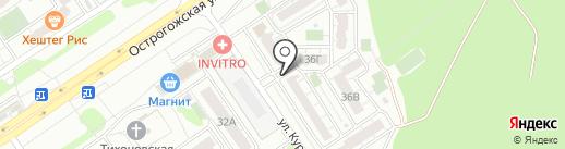 Right Hmelburg на карте Воронежа