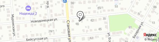 Добрая техника на карте Краснодара