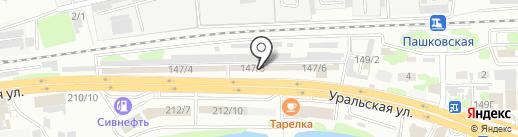 Светодиод+ на карте Краснодара