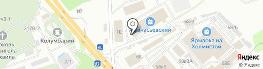 Зенит Черноземье на карте Воронежа