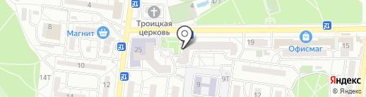 Сладкий Май на карте Воронежа