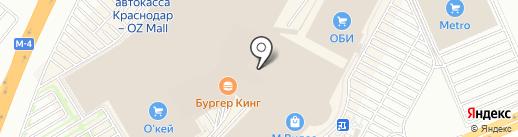 Коровка из Кореновки на карте Краснодара