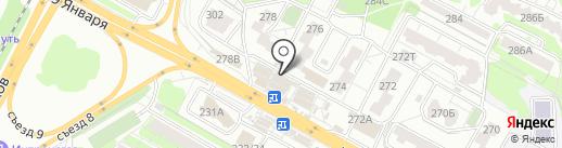 Магазин хлебобулочных изделий на карте Воронежа