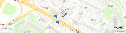 Магазин по продаже сыров и колбасных изделий на карте Воронежа
